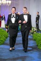 Häirekeskuse peadirektor Kätlin Alvela ja poeg Aleks Alvela