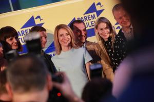 Reformierakondlased valimisvõitu tähistamas