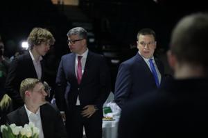 Tanel Kiik, Mihhail Korb ja Jüri Ratas