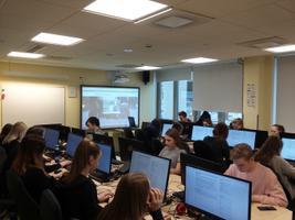 Tartu Tamme Gümnaasiumi XILO õpilased kirjutasid e-etteütlust