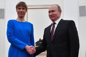 President Kaljulaid ja president Putin.