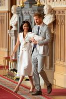 Sussexi hertsoginna Meghan ja prints Harry pojaga