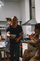 Tipprežissöör Ove Musting kokkas Eesti delegatsioonile