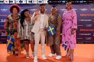 Eurovisiooni oranž vaip, Rootsi esindaja John Lundvik