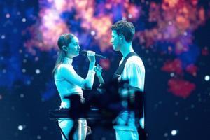 Eurovisiooni esimese poolfinaali peaproov, Sloveenia
