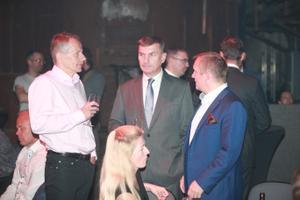 Reformierakonna valimispidu: Jürgen Ligi, Andrus Ansip ja Rain Rosimannus