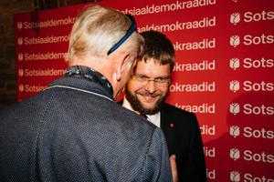 Indrek Tarand ja Jevgeni Ossinovski