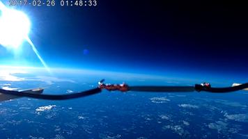 Väätsa Põhikooli õpilaste teadusjaam ca 30 000 km kõrgusel maast. Põhikool veab eest Eesti kosmosekoolide võrgustikku.