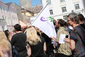 Akadeemiliste töötajate protest