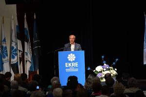 EKRE kongress Jõhvis