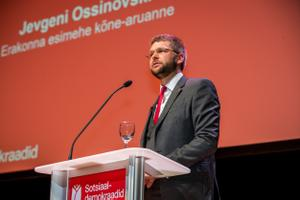 Indrek Saar was elected leader at the SDE general assembly on Sunday.