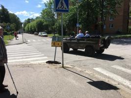 Ainar Ruussaar ja Hendrik Agur Kohtla-Järvel.