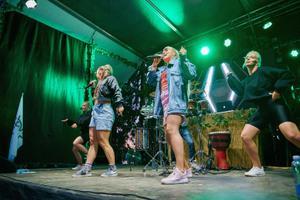 Концерт в Иванову ночь в Пюхаярве.