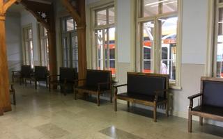 Тартуский вокзал.