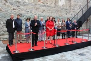 Renoveeritud Haapsalu piiskopilinnuse muuseumi avatseremoonia.