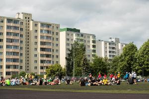 Tantsupeo proov Kuristiku gümnaasiumi staadionil