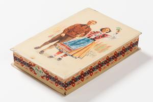 Laulupeo maiustused, 1950. aastad, kujundus Melanie Kaarma