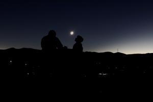 Päikesevarjutus Incahuasis Tšiilis.