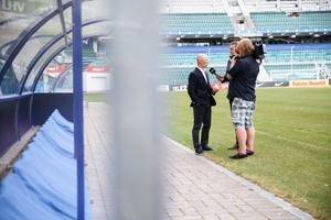 Eesti jalgpallikoondise uue peatreeneri avalikustamine