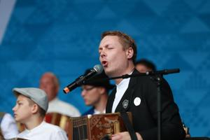 Folk Music Festival at Tallinn's Freedom Square on Friday afternoon. July 5, 2019.
