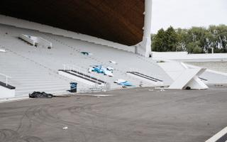 Tallinn Song Festival Grounds a day after the XXVII Song Festival ended. July 8, 2019.