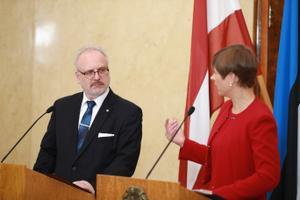 Läti president Egils Levits