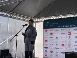 President Kersti Kaljulaid saatis Admiral Bellingshauseni Roomassaarest teele