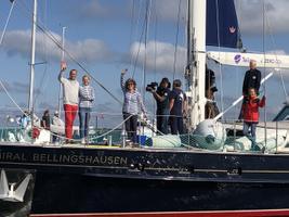 Admiral Bellingshausen saadeti Roomassaarest teele