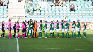 FC Flora naiskond Meistrite liiga mängus PK-35 Vantaa vastu