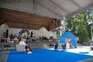 Opinion Festival on the event's second day.