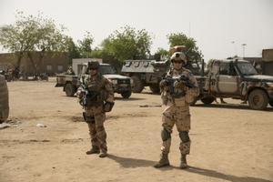Eesti jalaväerühm Malis, kus Euroopa Liit juhib väljaõppemissiooni