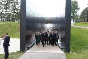 Президент Литвы посетил Мемориал Маарьямяэ.