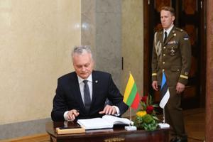 Президент Литвы Гитанас Науседа.