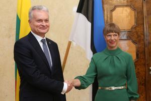 Президент Литвы встретился с Керсти Кальюлайд.