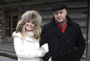 Kadi Jaanisoo ja Toomas Luhats 2009. aastal