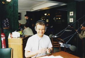 Marko Reikop Raadio 2 toimetuse liikmena 1990ndatel