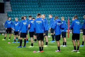 Jalgpallikoondise treening