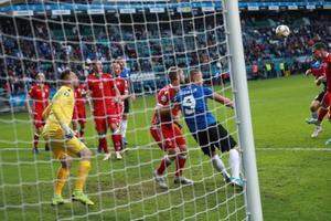 Jalgpalli EM-valikmäng Eesti - Valgevene