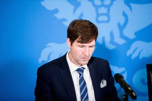 Martin Helme, eelarvet tutvustamas