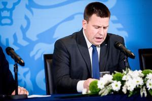 Jüri Ratas, eelarvet tutvustamas