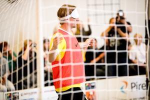 Eesti esimene pimedate jalgpalli näidismatš