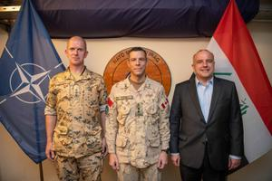 Jüri Luik and Martin Herem in Iraq.