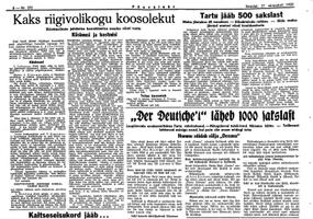 Päevaleht 27.10.1939.