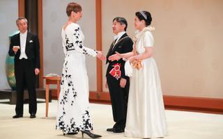 President Kersti Kaljulaid Jaapanis.