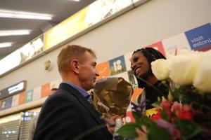 Maicel Uibo ja Shaunae Miller-Uibo jõudsid Eestisse