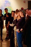 Marta Vaariku näituseavamine