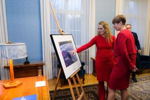 Governor General of Canada Julie Payette is on a two-day visit to Estonia. Nov. 27, 2019.