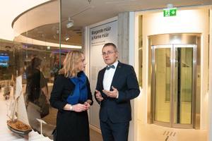 Открытие музея в башне Толстая Маргарита.