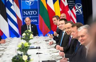 NATO working dinner in London, attended by Jüri Ratas (Centre).