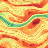 2D kineetiline simulatsioon kujutab supermassiivse musta augu ümber tiirlevas plasmas leiduvaid tiheduserisusi, (Itaalia).